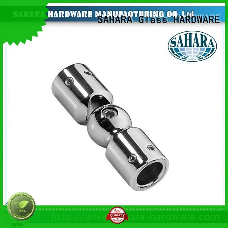 SAHARA Glass HARDWARE good price glass connectors factory direct supply for bathroom
