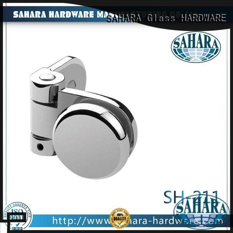 SAHARA Glass HARDWARE hanging glass corner connectors supplier for doors