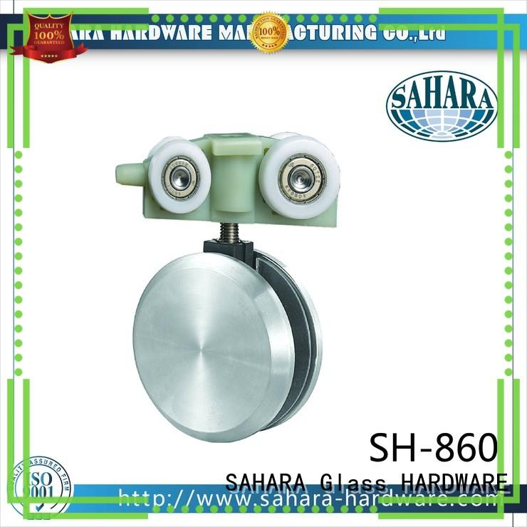 SAHARA Glass HARDWARE polished stainless steel sliding glass door systems series for market