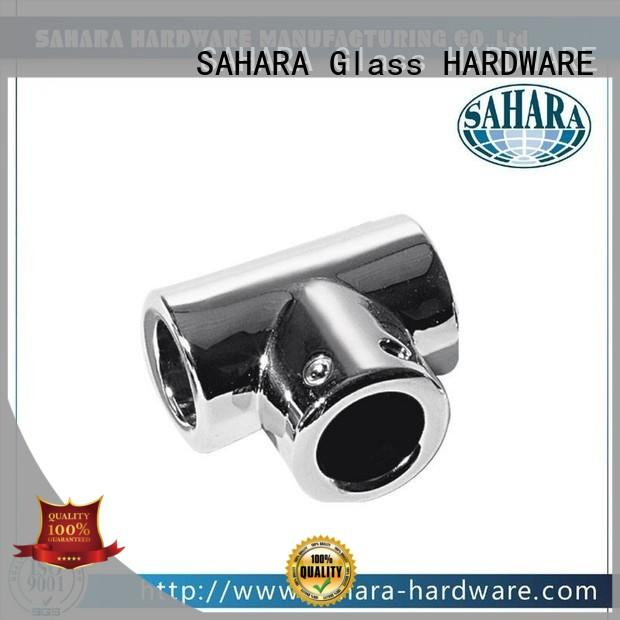 SAHARA Glass HARDWARE top quality glass connectors manufacturer for home