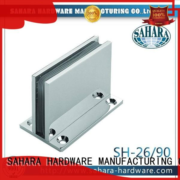 SAHARA Glass HARDWARE brass shower hinges customized for home