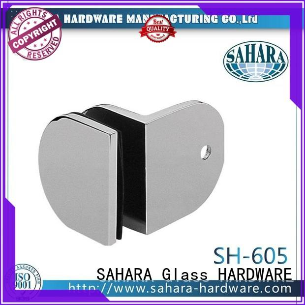 SAHARA Glass HARDWARE top quality glass panel connectors supplier for bathroom