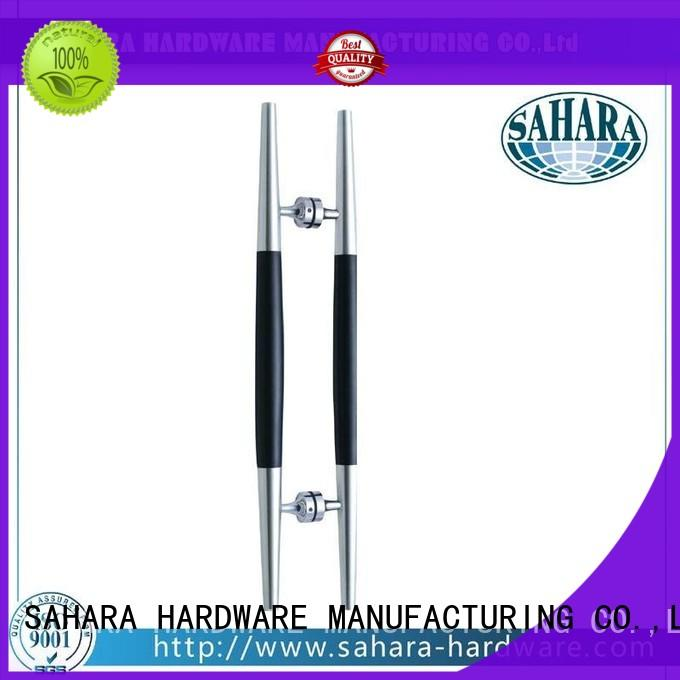 SAHARA Glass HARDWARE durable glass door handles multi-shape for doors