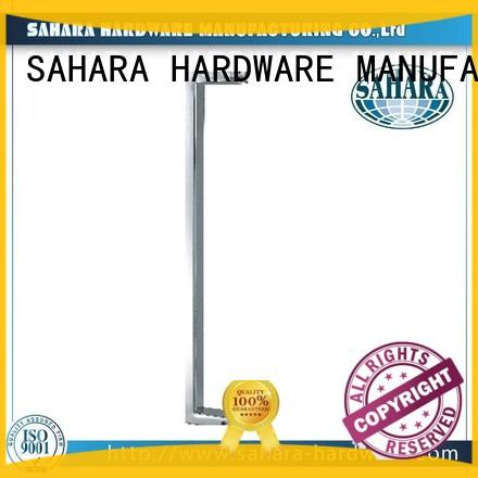 stainless steel commercial glass door handles manufacturer for home SAHARA Glass HARDWARE