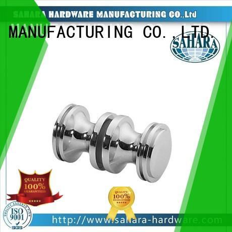 SAHARA Glass HARDWARE square shower knob parts manufacturer for doors