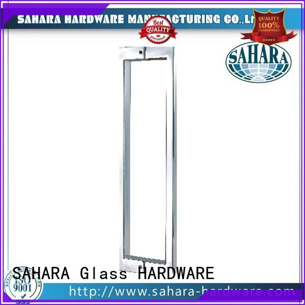 SAHARA Glass HARDWARE durable glass shower door handles manufacturer for home
