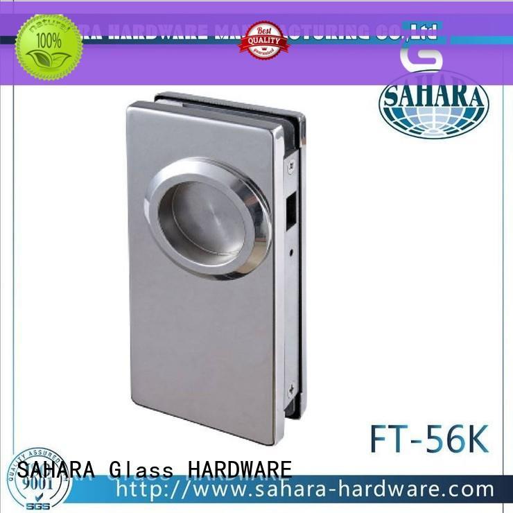 professional bathroom glass door lock brass manufacturer for office