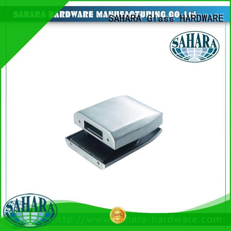 SAHARA Glass HARDWARE 5 keys bathroom glass door lock manufacturer for office
