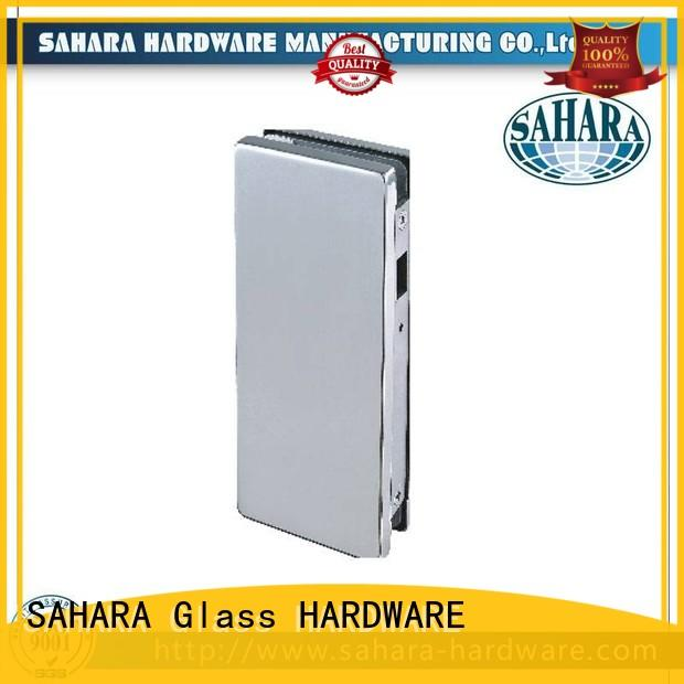 professional bathroom glass door lock stainless steel cover factory direct supply for office