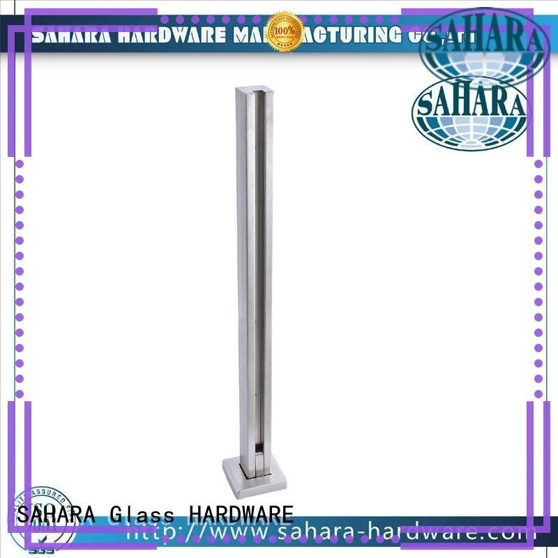 SAHARA Glass HARDWARE high quality glass to glass shower door hinges oem for home