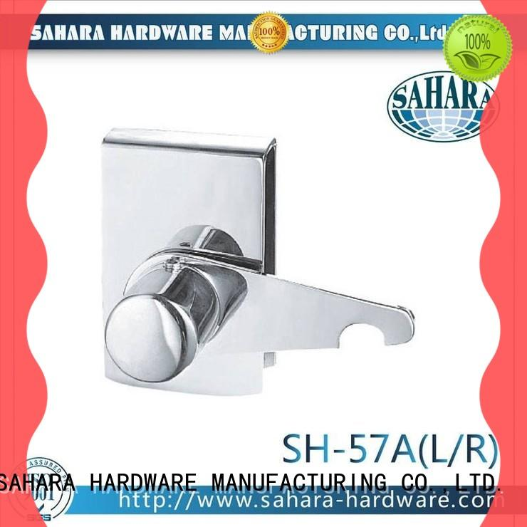 SAHARA Glass HARDWARE top quality glass door lock factory direct supply for home