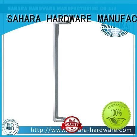 SAHARA Glass HARDWARE various lengths glass shower door handles wholesale for home