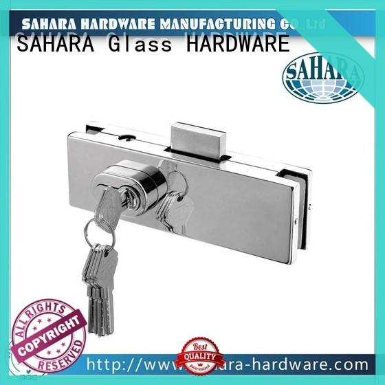 reliable glass door lock stainless steel cover supplier for home