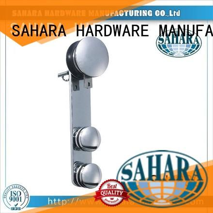 SAHARA Glass HARDWARE polished stainless steel sliding door systems supplier for market