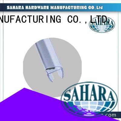 Brass Door shower door seal strip SAHARA Glass HARDWARE Brand