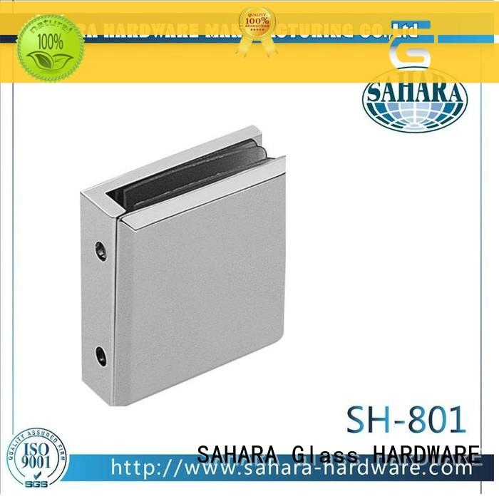 SAHARA Glass HARDWARE real glass panel connectors factory direct supply for home