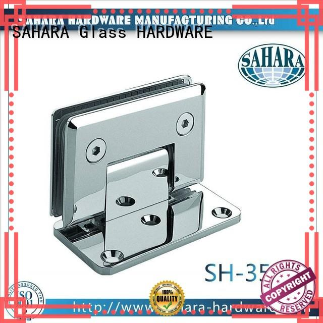 SAHARA Glass HARDWARE brass shower hinges customized for bathroom
