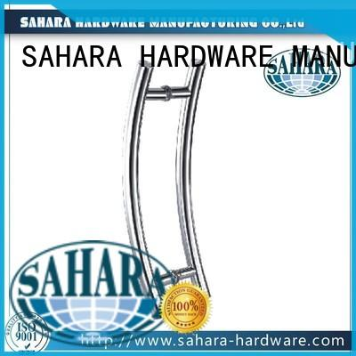 SAHARA Glass HARDWARE stainless steel handles for glass doors wholesale for office
