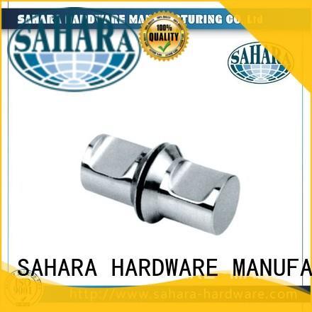 SAHARA Glass HARDWARE high quality chrome shower knobs round for doors