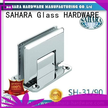 SAHARA Glass HARDWARE real hinges for shower doors stainless steel for home