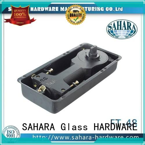 SAHARA Glass HARDWARE aluminium floor spring for glass door customized for family