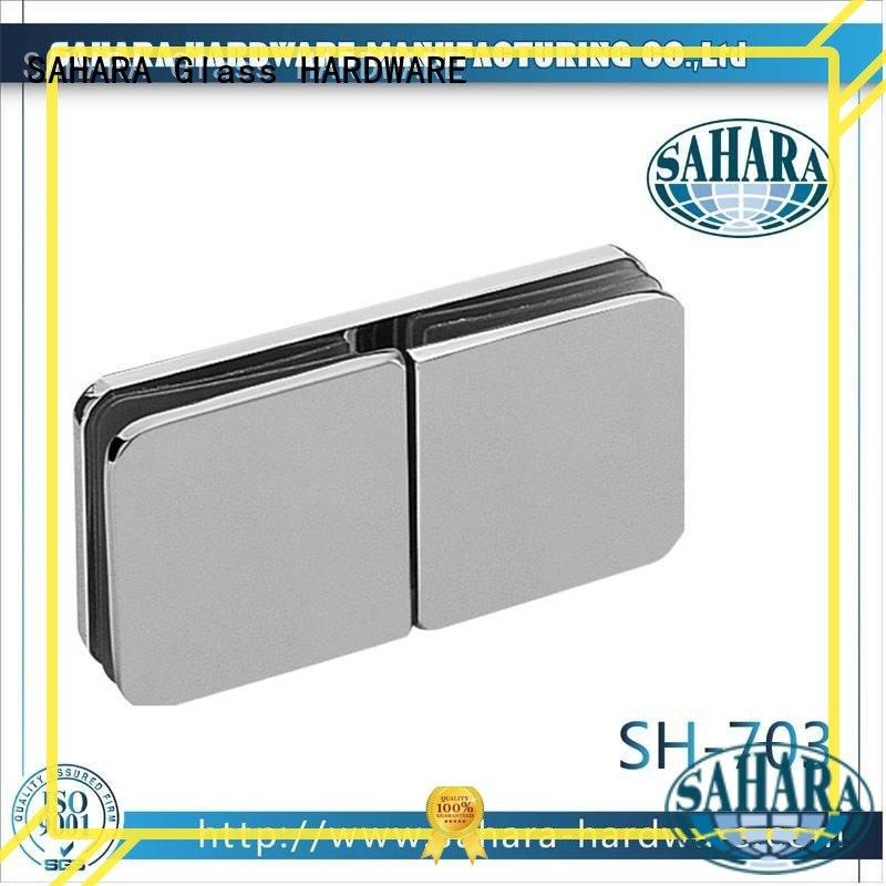 SAHARA Glass HARDWARE stainless steel glass panel connectors factory direct supply for doors