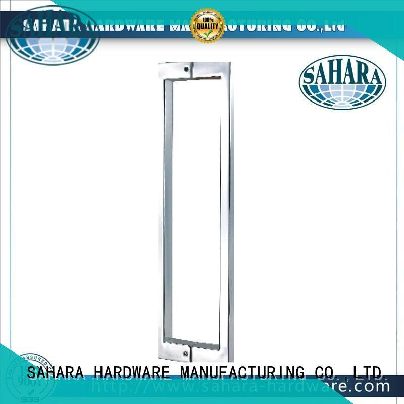 SAHARA Glass HARDWARE durable glass shower door handles manufacturer for doors
