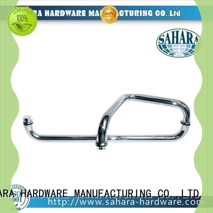 SAHARA Glass HARDWARE various lengths glass shower door handles wholesale for doors