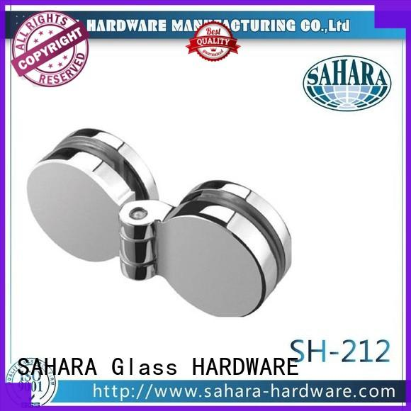SAHARA Glass HARDWARE top quality glass corner connectors factory direct supply for doors