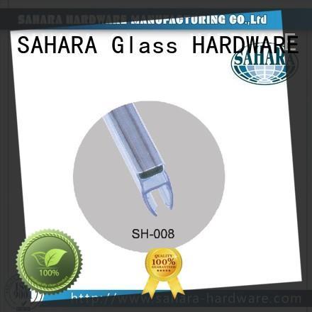 SAHARA Glass HARDWARE brass magnetic sealing strip wholesale for bathroom