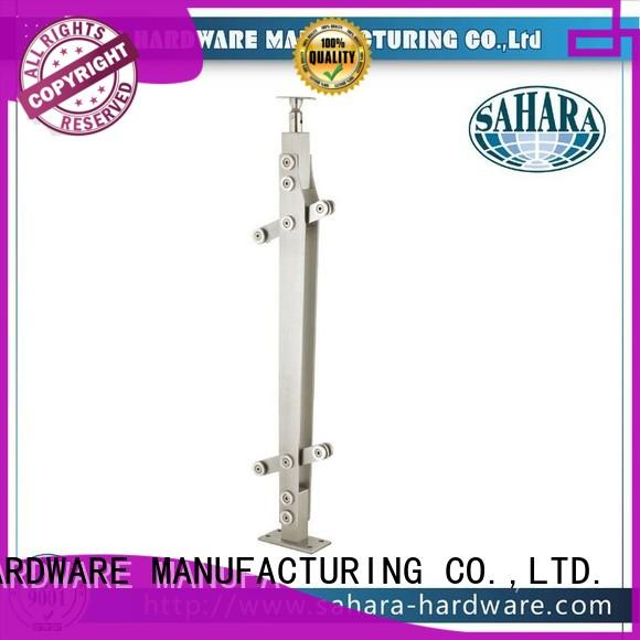SAHARA Glass HARDWARE Oem shower door hinges glass to glass stainless steel for office