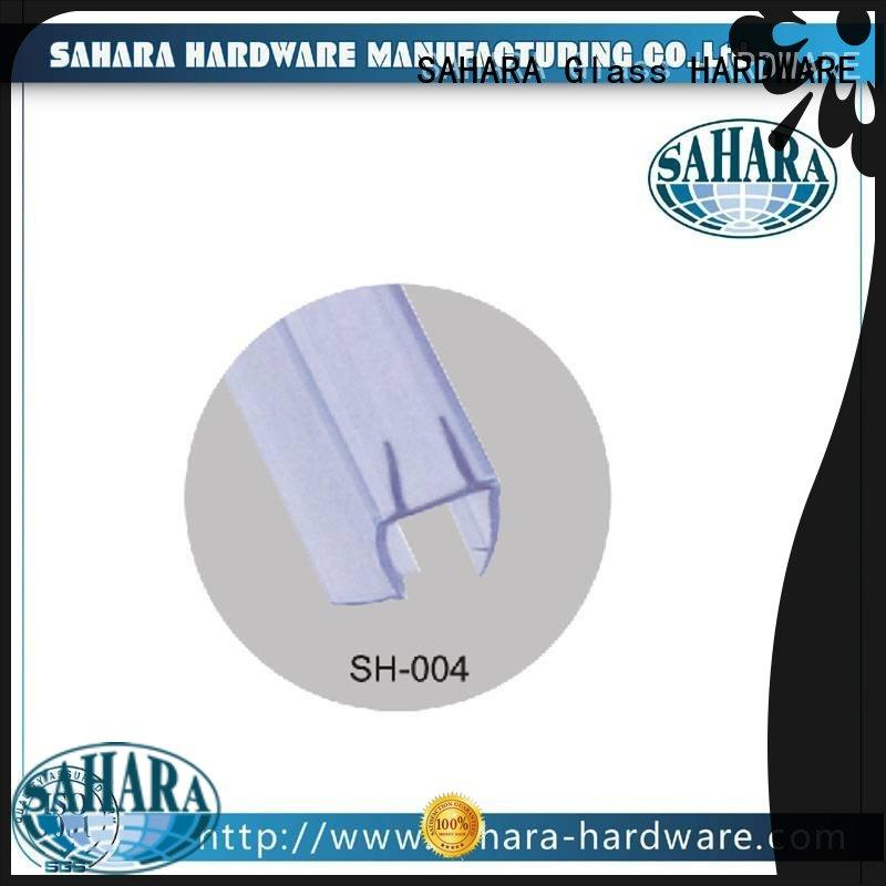 SAHARA Glass HARDWARE top quality pvc strip manufacturer for doors
