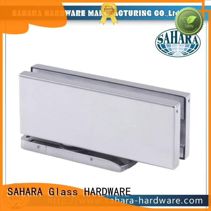SAHARA Glass HARDWARE real floor hinge factory direct supply for family