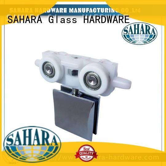 SAHARA Glass HARDWARE brass sliding glass door systems supplier for door