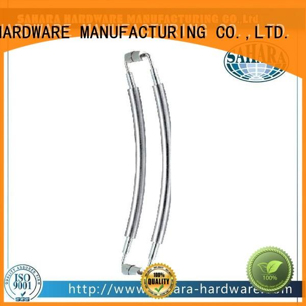 SAHARA Glass HARDWARE multi-shape handle glass door factory direct supply for doors