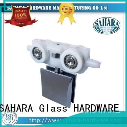 SAHARA Glass HARDWARE aluminium sliding glass door systems customized for office