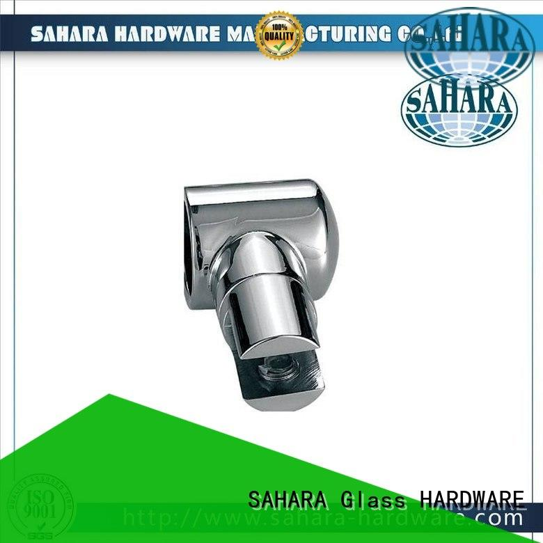 SAHARA Glass HARDWARE real glass connectors factory direct supply for bathroom