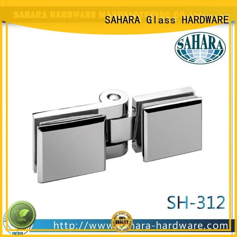 SAHARA Glass HARDWARE brass glass corner connectors wholesale for bathroom