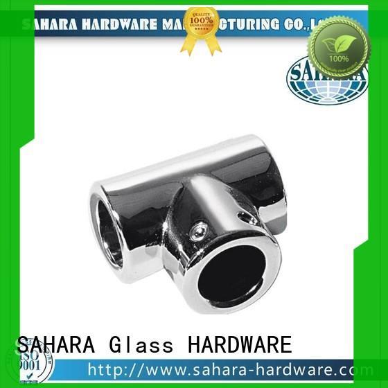 SAHARA Glass HARDWARE good price glass corner connectors wholesale for doors