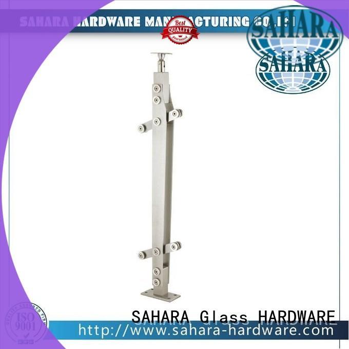 SAHARA Glass HARDWARE stainless steel shower glass door hinges supplier for door