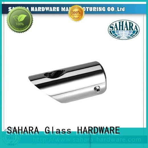 SAHARA Glass HARDWARE stainless steel glass panel connectors supplier for doors