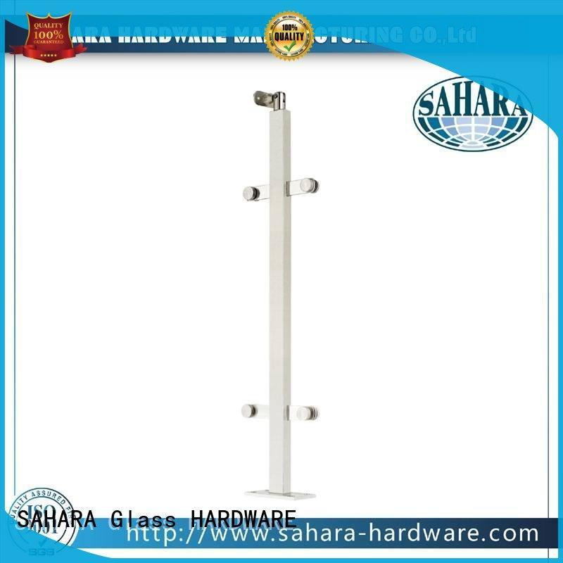 SAHARA Glass HARDWARE frameless glass shower hinges customized for office
