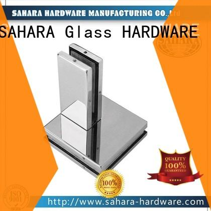 SAHARA Glass HARDWARE aluminium body glass door patch fitting factory direct supply for office
