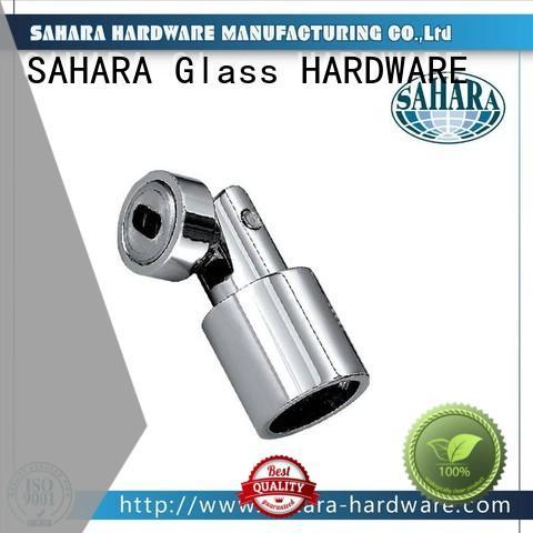 SAHARA Glass HARDWARE good price glass corner connectors factory direct supply for bathroom