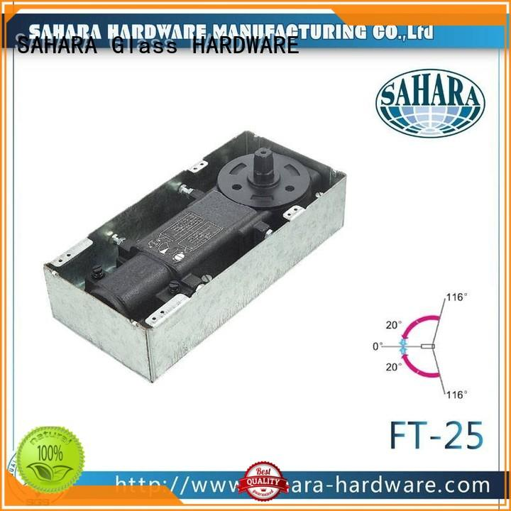 SAHARA Glass HARDWARE brass cylinder floor hinge wholesale for doors