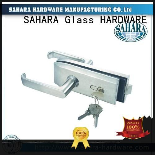 top quality glass door lock stainless steel cover wholesale for office