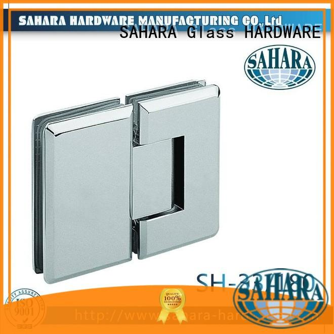 SAHARA Glass HARDWARE high quality glass door hinges customized for doors