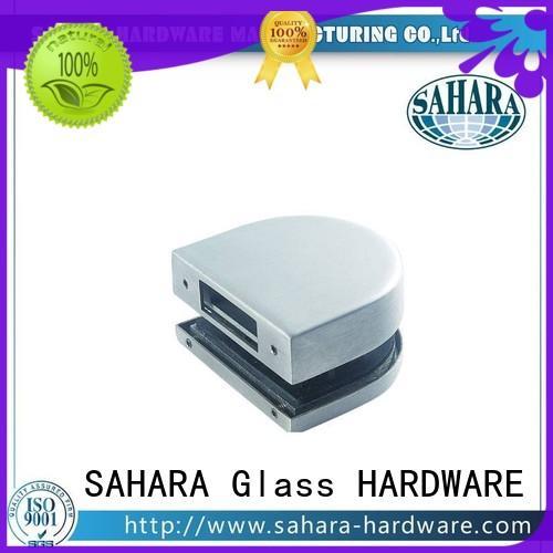 SAHARA Glass HARDWARE aluminium body bathroom glass door lock supplier for office