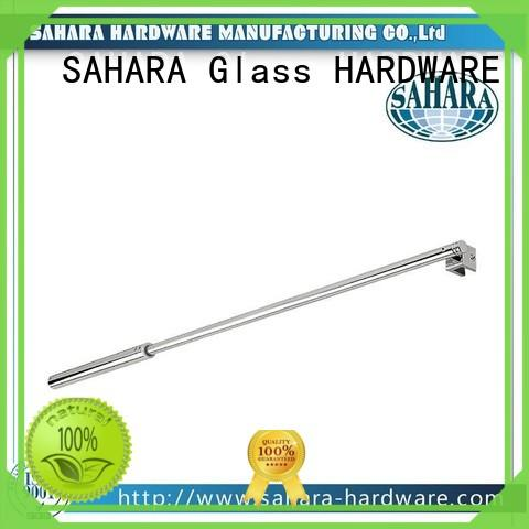 SAHARA Glass HARDWARE hanging glass connectors supplier for doors