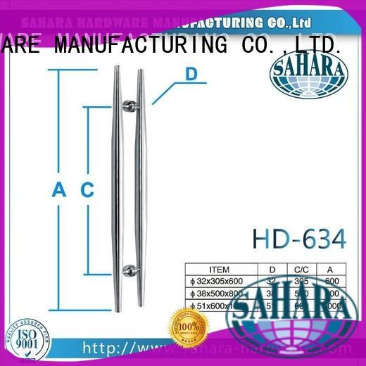 SAHARA Glass HARDWARE multi-shape handles for glass doors manufacturer for office